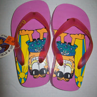 Garfield Flip Flops 13-1-We Got Character