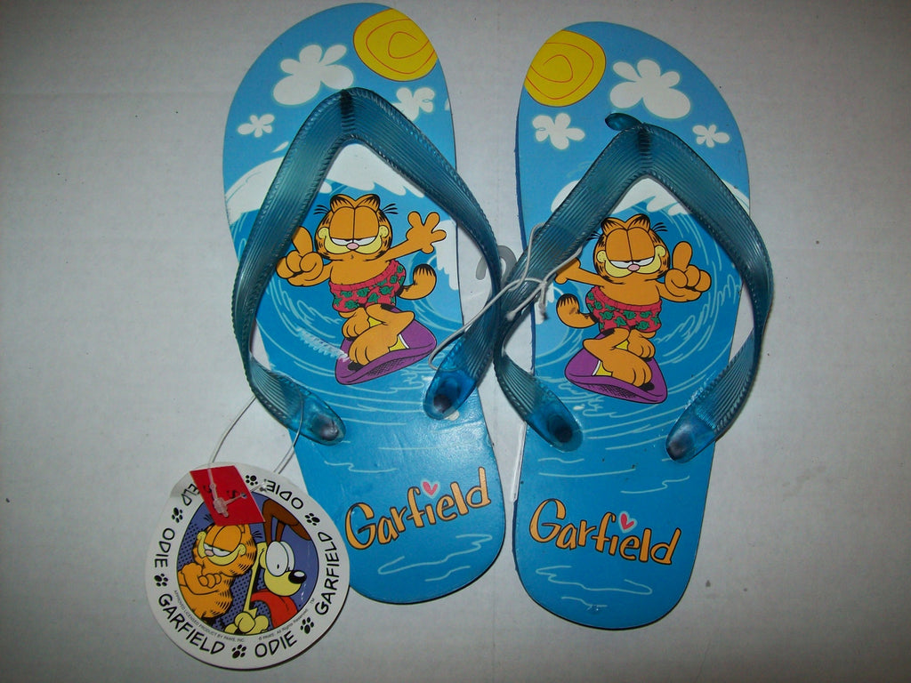 Garfield Flip Flops Blue - Simply Garfield