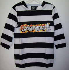 Garfield Striped Long Sleeve Shirt