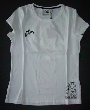 White Fun With Garfield Shirt-We Got Character