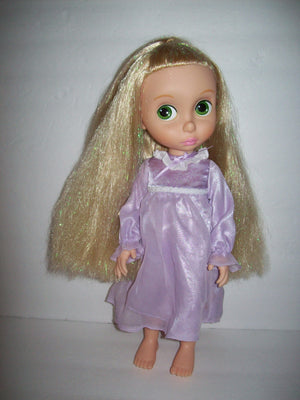 Disney Animator 1st edition Rapunzel Doll with sparkle Tinsel Hair-We Got Character