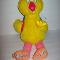 Play & Teach Big Bird Sesame Street Interactive Learning Plush Color Shapes ABC-We Got Character