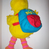 Play & Teach Big Bird Sesame Street Interactive Learning Plush Color Shapes ABC