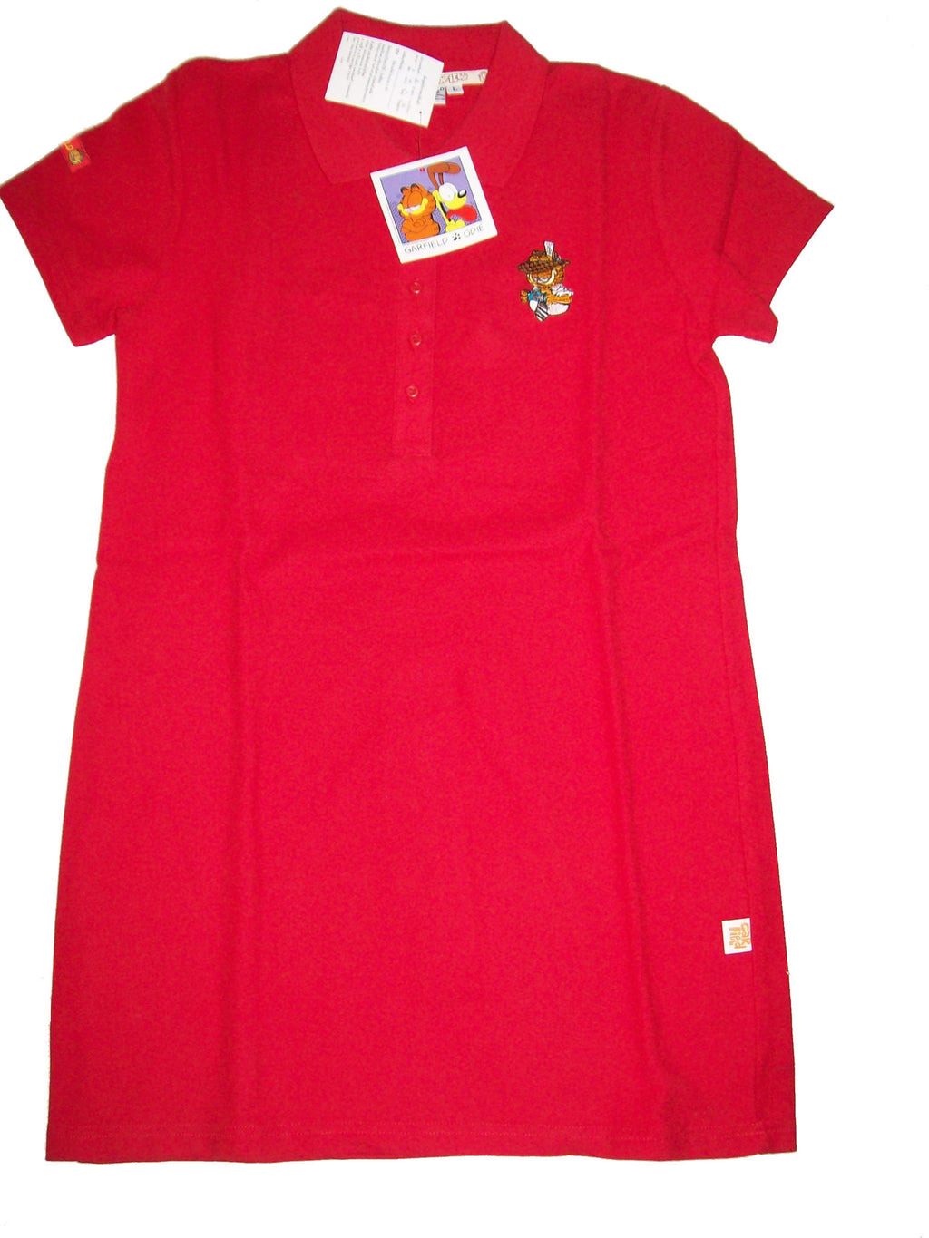 Garfield Red Polo Shirt - Simply Garfield