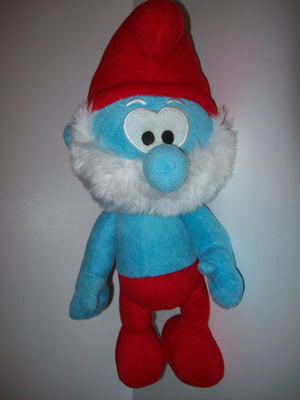 Papa Smurf Plush By Nanco