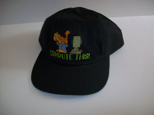 Garfield Compute This Baseball Cap Hat - Simply Garfield