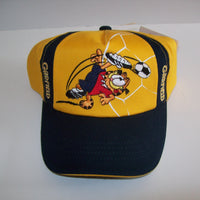 Garfield Yellow Navy Blue Baseball Cap Hat-We Got Character