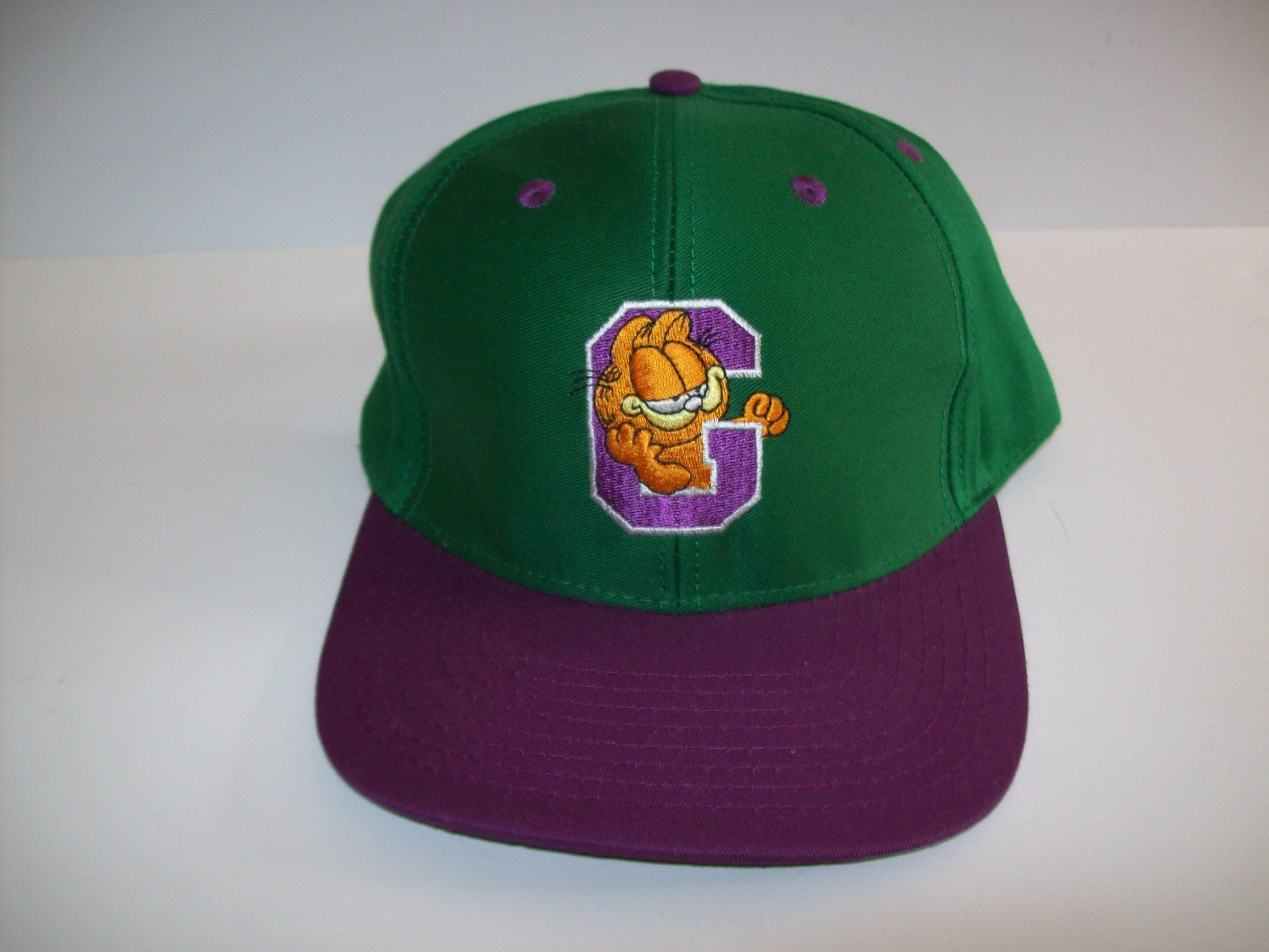 Garfield Green Baseball Cap Hat - Simpy Garfield