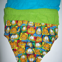 Garfield Youth Underwear Lot of 3-We Got Character