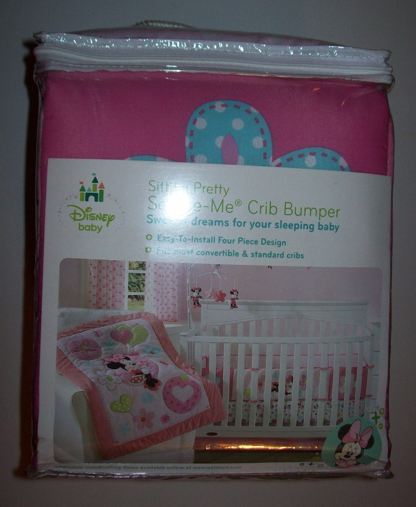 Disney Minnie Mouse Sitting Pretty Crib Bumper