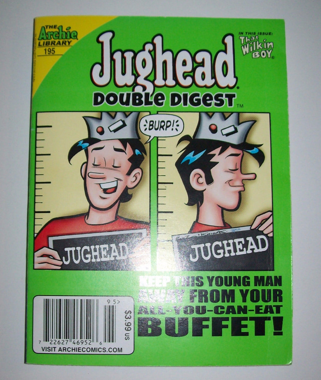 Jughead Double Digest Comic Book 195-We Got Character