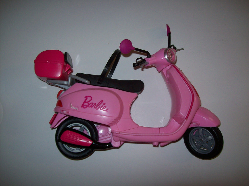 Barbie Motorcycle Scooter