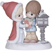 "Precious Moments ""Tidings Of Comfort And Joy"" Bisque Porcelain Figurine - We Got Character"