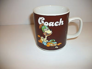 Garfield Coffee Cup Coach-We Got Character