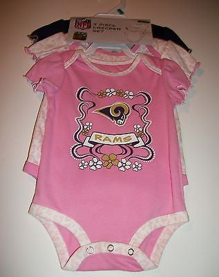 Three Piece Creeper Set St Louis Rams - We Got Character
