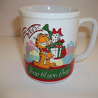 Garfield Coffee Cup Christmas Tip 3-We Got Character