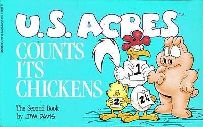 U.S. Acres Counts Its Chickens 2nd Comic Book - Simply Garfield