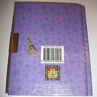 Garfield & Friends Purple Diary Backside - Simply Garfield