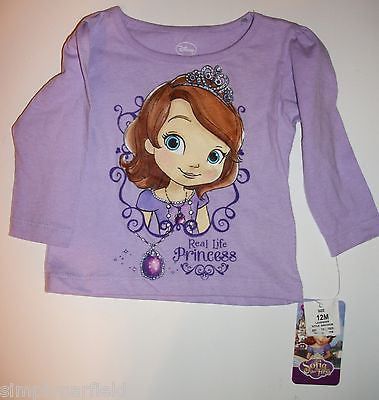 Sophia The Princess Long Sleeve Shirt - We Got Character
