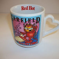 Garfield Red Hot Lovers Coffee Cup - Simply Garfield