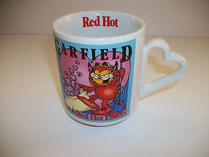 Garfield Red Hot Lovers Coffee Cup-We Got Character
