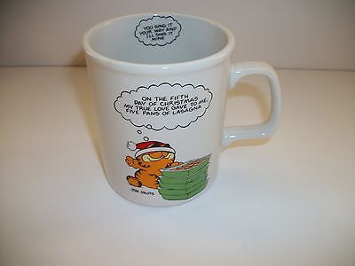 Garfield Coffee Cup On the Fifth Day-We Got Character