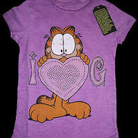 Garfield Violet T Shirt 5-6 Youth RELAUNCH - Simply Garfield