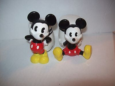 Mickey Mouse Salt and Pepper Shakers Pie-Eyed Gibson - We Got Character