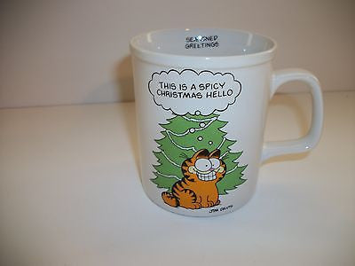 Garfield Coffee Cup Seasoned Greetings Enesco - Simply Garfield
