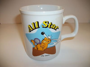 Garfield All Star Coffee Cup-We Got Character