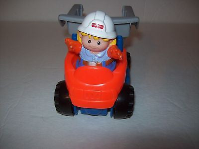Fisher Price Little People Dump Truck and Worker - We Got Character