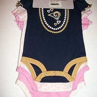 Three Piece Creeper Set St Louis Rams-We Got Character