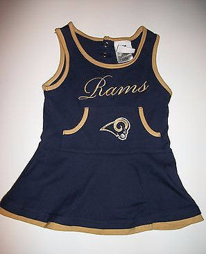 St Louis Rams NFL Cheerleader Dress - We Got Character