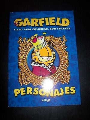 Garfield Character Coloring Book - Simply Garfield