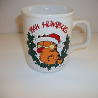 Garfield Coffee Cup Bah Humbug-We Got Character