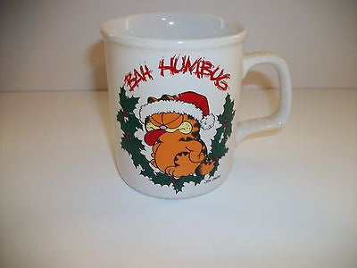 Garfield Coffee Cup Bah Humbug - Simply Garfield