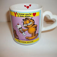 Garfield Coffee Cup On Being In Love-We Got Character