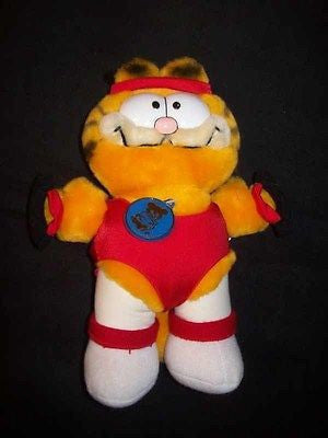 Garfield Aerobics Plush Stuffed Animal - Simply Garfield