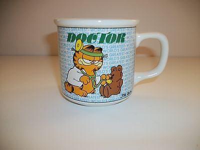 Garfield Doctor Coffee Cup-We Got Character