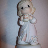 Precious Moments Figurine Thank You For The Times We Share #1 Mom-We Got Character