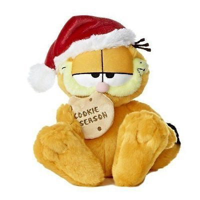 Aurora Garfield the Cat Christmas Cookie Plush