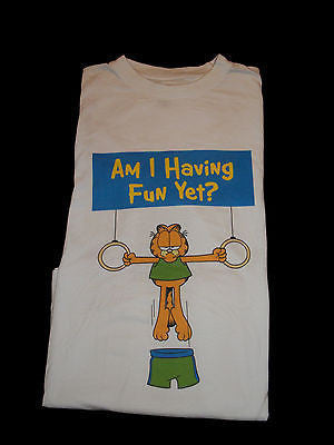 Am I Having Fun Yet Garfield T Shirt
