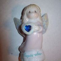 Precious Moments Christmas Ornament September Angel-We Got Character