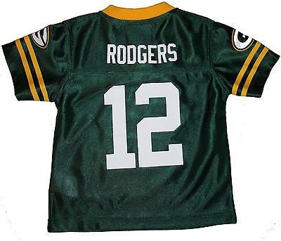 Green Bay Packers Jersey Rodgers #12 Team Apparel