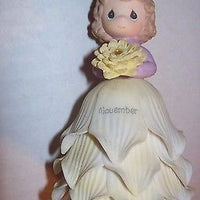 Precious Moments November Figurine Bell - We Got Character