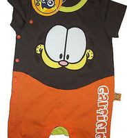 Garfield Brown Multi Colored One Piece Onesie-We Got Character