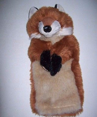 "FOLKMANIS Stage Hand Puppet Fox  Plush 15"" - We Got Character"