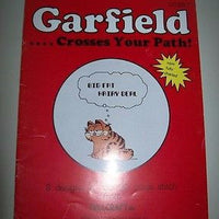 Garfield Crosses Your Path Cross Stitch Book - Simply Garfield