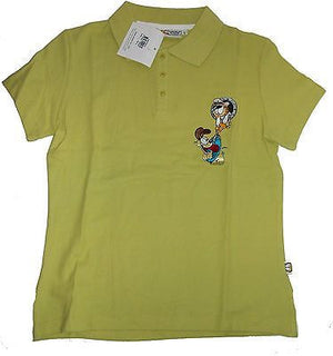 Garfield and Odie Polo Shirt Size L - Simply Garfield