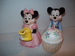 Mickey Minnie Mouse Meadow Creamer & Sugar Set - We Got Character